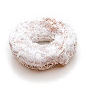 Single donut from Ridge Donuts